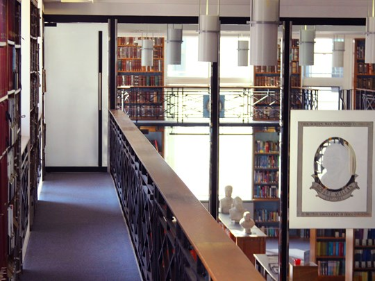 Library - close up interior shot