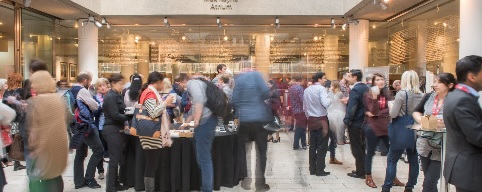 Networking in atrium