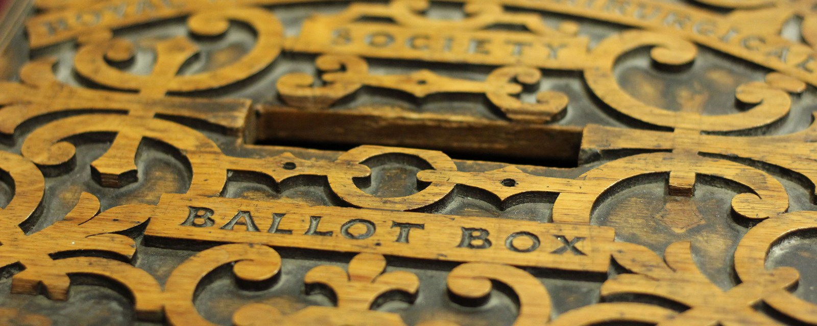 Library ballot box